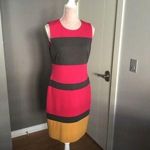 Calvin Klein dress Size 8. Nice stretchy fabric.
